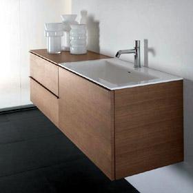 Fustabric cb muebles cocinas ba os parquet y puertas - Muebles de bano con patas ...
