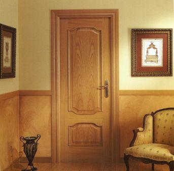 Fustabric cb muebles cocinas ba os parquet y puertas for Puertas dobles de madera interior